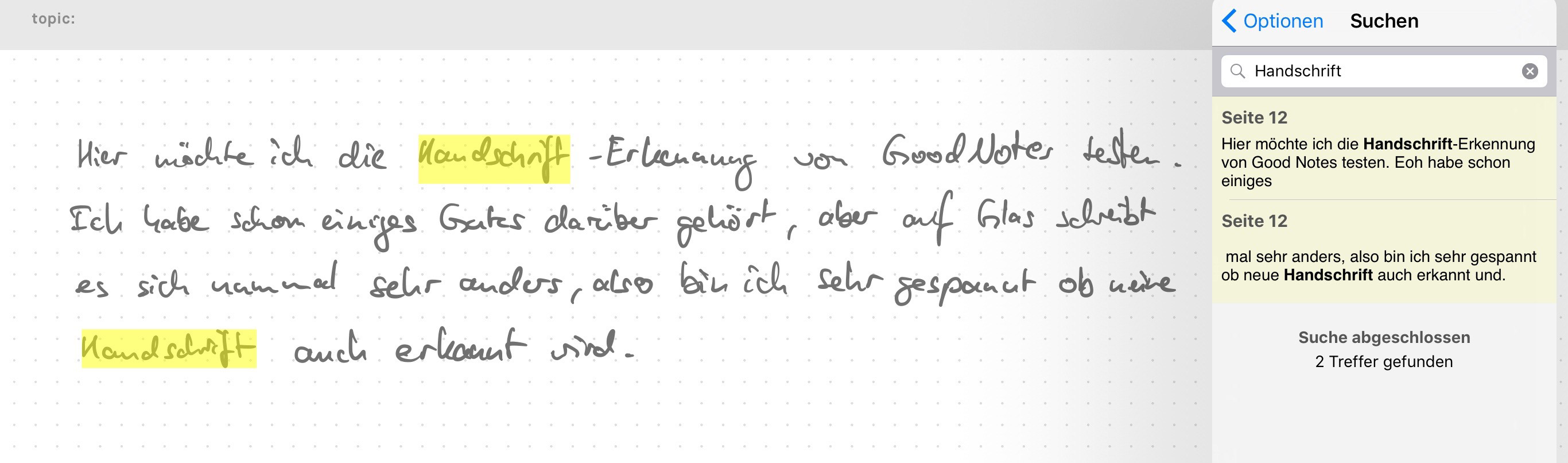 goodnotes-handschrift-erkennung